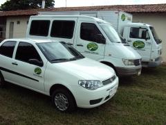 Frota própria garante agilidade e eficiência na entrega. temos caminhões a veículos menores para atender nosso cliente.