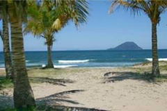 Praia perto do hotel