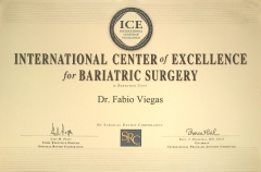 Certificado internacional da acredita��o da surgical review corporation