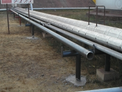 Montagens de tubula��es e isolamento termico