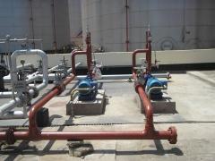 Fabricação de tubulações e montagem de  bombas