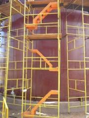 fabricação e montagens de tanques