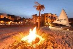 Praia próxima do hotel
