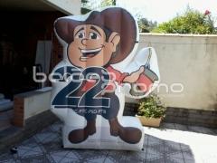 Acesse nosso site e confira - infláveis promocionais - www.baloespromo.com.br
