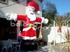 Infláveis natalinos - papai noel inflável - acesse nosso site e confira - infláveis promocionais - www.baloespromo.com.br