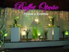 Buffet para Casamento - Buffet Opção Festas e Eventos