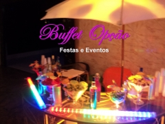 Open bar buffet opção festas e eventos