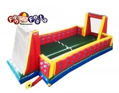 Futebol de sab�o 8mx4m pode ser utilizado com �gua ou gel de silicone