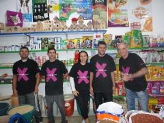 Equipe do Aviário Terra Fertil em 2012