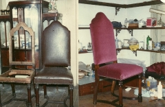 Cadeiras utilizadas durante período império - ilha fiscal - rio de janeiro