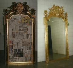 Espelho (império) museu ciaw - ilha das enxadas - marinha - rj