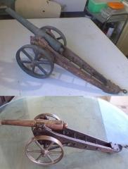 Réplica decorativa em bronze e ferro..(argentina). cliente particular