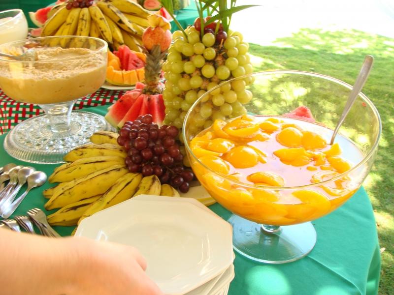 Foto Mesa de Frutas -> Decoração De Frutas Para Mesa