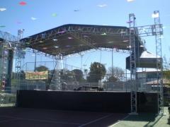 Montagem e locação de palcos