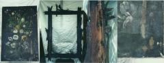 óleo sobre tela- escola europeia - cliente particular - rj - (antes)