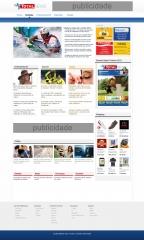 Criação de todo o projeto do jornaltotalnews versão online. criação e design, programação, otimização, webmarketing.