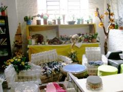 Artesanatos e produtos reciclados