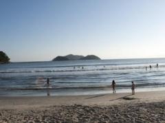 Praia próxima a pousada