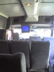 Foto  interna   15  passageiros  tv dvd  som