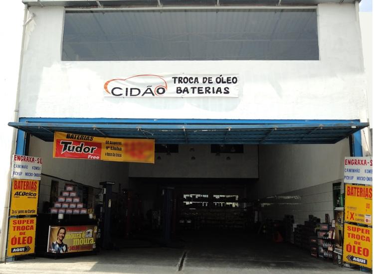 Cidão Troca de óleo e baterias