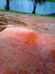 Poço de trinta metros água potavel.