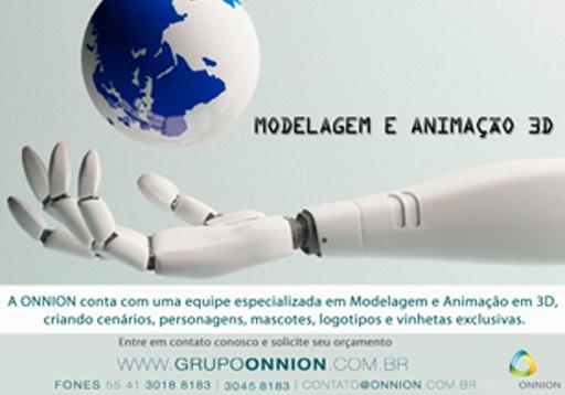 Modelagem e Animação 3D - Onnion Multimídia