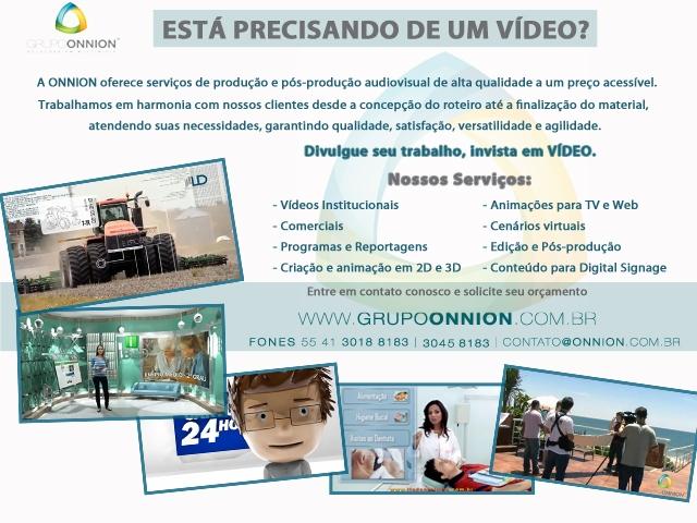 Produção de Vídeos - Onnion Multimídia