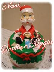 Pote de natal papai noel lançamento 2012