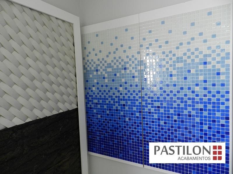 Pastilon Pastilhas Revestimentos E Pastilhas De Vidro Em Londrina -> Revestimento Para Banheiro Com Pastilha De Vidro