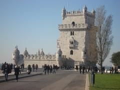 Torre de belem em lisboa