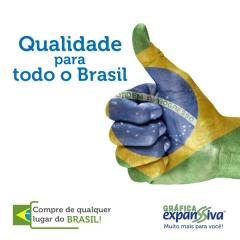 Compre de qualquer lugar do brasil com as facilidades que só a gráfica expanssiva tem!