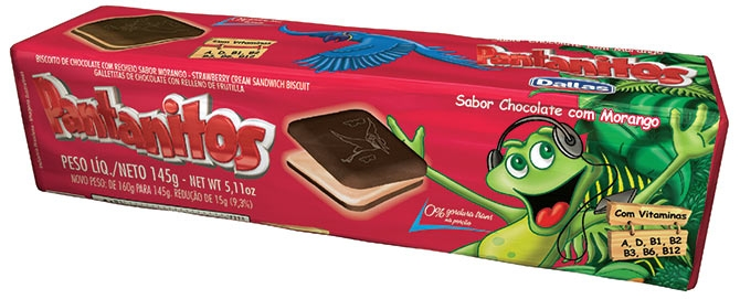 Embalagem Biscoito Recheado Pantanitos