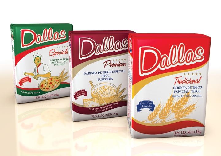 Embalagem Farinha de Trigo Dallas