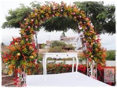 Decoração altar casamento