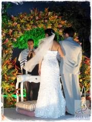 Decoração altar cerimônia