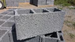 Bloco de concreto de vedação 14x19x39