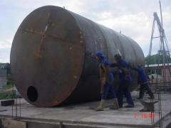 Fabricação de tanques para combustivel
