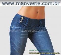 Calça jeans feminina para revenda acesse: www.mabveste.com.br