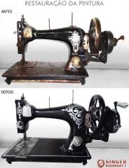Melhore a aparência de sua máquina de costura. restaurações originais ou personalizadas!