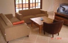 Sala de estar da casa
