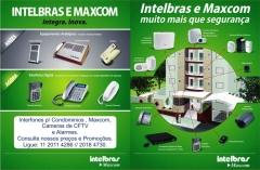 Interfones maxcom digital p/ condominios - ligue: (11)2011 4286