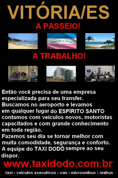 Taxi Aeroporto Vitoria