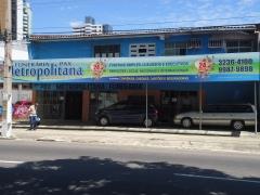 Fachada da unidade de belém - pa, av. gov. josé malcher 2063 - entre rua 9 de janeiro e rua 3 de maio - bairro são brás.