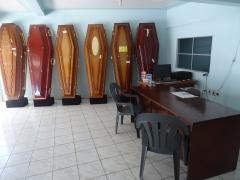Sala 1 de mostruário de urnas