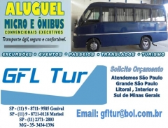Aluguel de micro onibus gfl tur