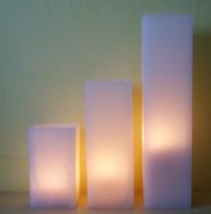 Locacao e venda de luminarias quadradas