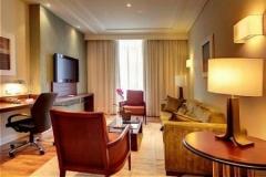 Sala da suíte do hotel