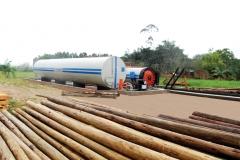 Usinas para tratamento de madeiras upm utm