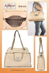 Bolsas femininas de couro - www.kabupy.com.br