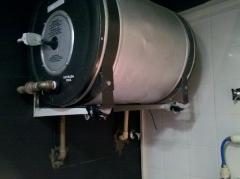 Instalação de bolier